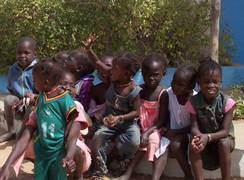 Kinder im Senegal